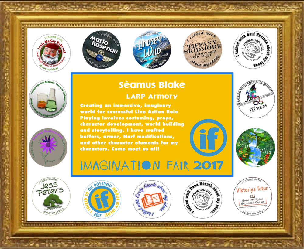 Imagination Fair 2017 Participation Certificate Example